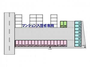 駐車場区割図(間取)