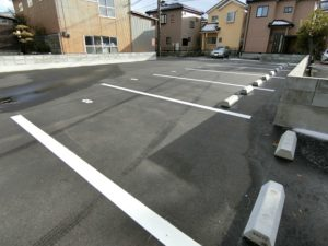 新潟市中央区山二ツ4丁目の月極駐車場 新しい駐車場です☆彡 『渡幸パーキング』
