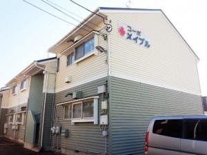 新潟市中央区山二ツ3丁目 収納充実のおススメ物件、駐車場2台目有ります!【コーポメイプル(2DK)】